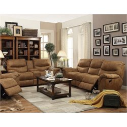 Coaster Hancox Sofa Set in Light Brown-B