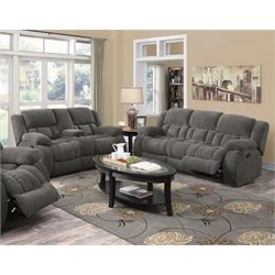 Coaster Weissman 2 Piece Reclining Sofa Set-L