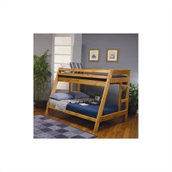 Coaster Wrangle Hill Twin over Full Bunk Bed in Amber Wash