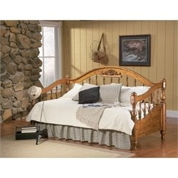 Coaster Wood Daybed in Natural Brown Finish