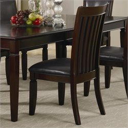 Coaster Ramona Dining Side Chair in Walnut