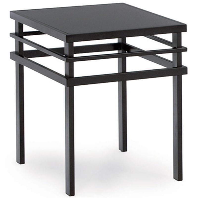Coaster 3 Piece Modern Coffee And End Table Set In Black 701524