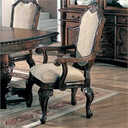 Coaster Saint Charles Upholstered Arm Dining Chair