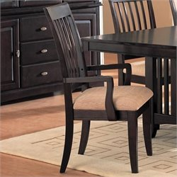 Coaster Monaco Dining Arm Chair in Rich Dark Cappuccino