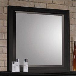 Coaster Sandy Beach Mirror in Black finish