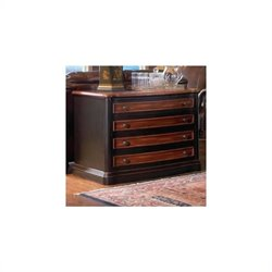 Coaster Pergola 2 Drawer File Cabinet in Cappuccino and Dark Oak