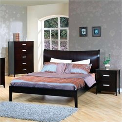 Coaster Auburn Queen Bedroom Set in Cappuccino 2