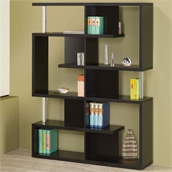 Coaster Modern Cube Bookcase in Black