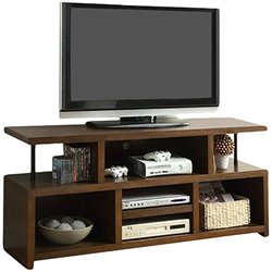 Coaster Casual TV Console with Open Storage