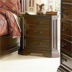 Coaster Foxhill Nightstand in Deep Brown Finish