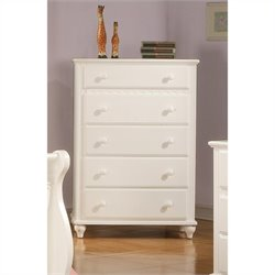 Coaster Pepper Chest in White