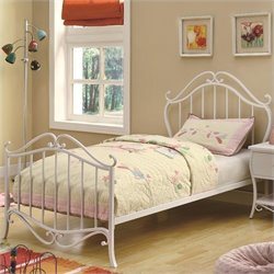 Coaster Bella Bed in White