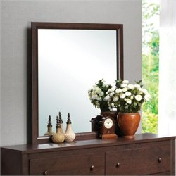 Coaster Remington Mirror in Chery Finish