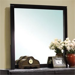 Coaster Nacey Mirror in Brown Black Stain