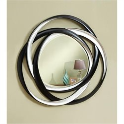 Coaster Two-Tone Contemporary Mirror