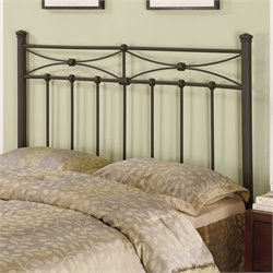 Coaster Full and Queen Spindle Headboard in Rustic
