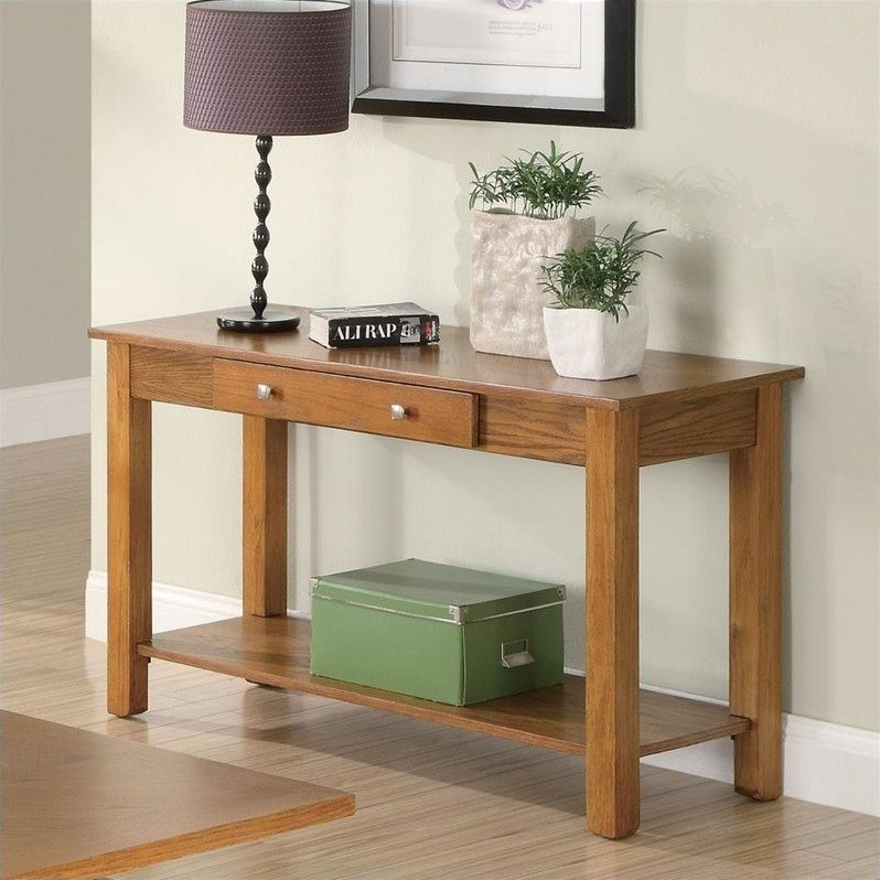 Coaster Occasional Group Sofa Table Deep Brown