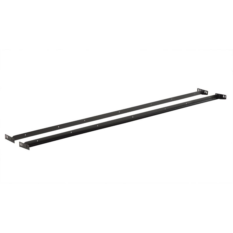 Coaster Queen Bed Rails in Black