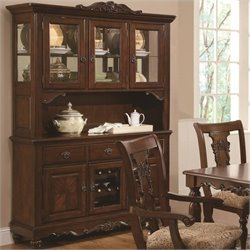 Coaster Addison Traditional China Cabinet in Cherry