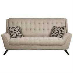 Natalia Tufted Fabric Sofa