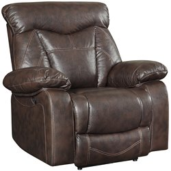 Zimmerman Recliner in Brown