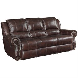 Rawlinson Leather Sofa in Tobacco