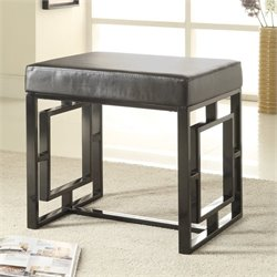 Coaster Petite Bench in Black