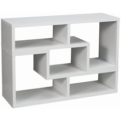 Coaster Wood Bookcase in White