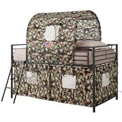 Coaster Camouflage Tent Bunk Bed in Green