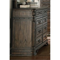 Coaster Carlsbad 8 Drawer Dresser in Vintage Espresso
