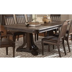 Coaster Carlsbad Dining Table in Vintage Espresso