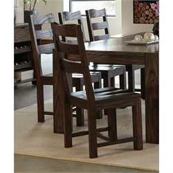 Coaster Calabasas Dining Chair in Dark Brown