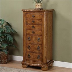 Powell Furniture Porter Valley Jewelry Armoire
