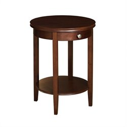 Powell Furniture Shelburne Cherry Accent Table
