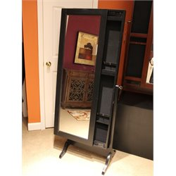 Powell Furniture Jewelry Armoire in Black