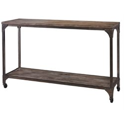 Powell Furniture Benjanmin Console Table in neutral