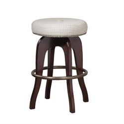 Powell Furniture Swivel Backless Bar Stool
