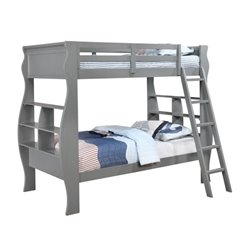 Powell Furniture Casey Twin over Twin Bunk Bed