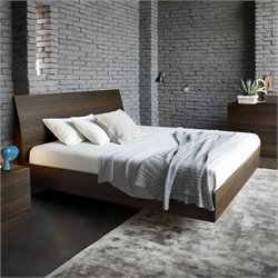 Rossetto Vela Platform Bed in Oak