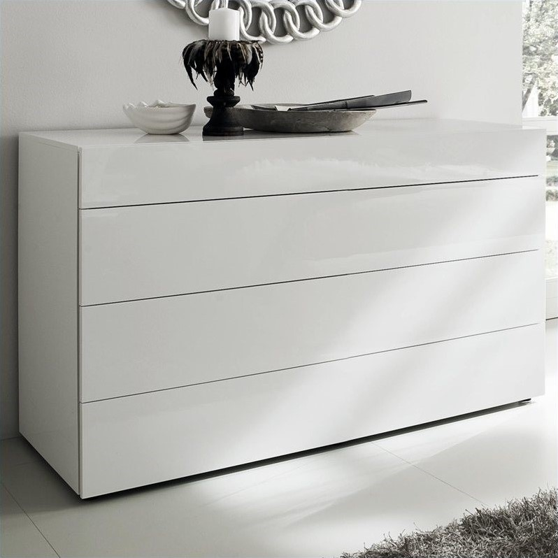 Rossetto White Matrix Dresser in White
