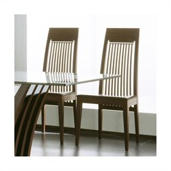 Rossetto Mirage Dining Chairs in Wenge (Set of 2)