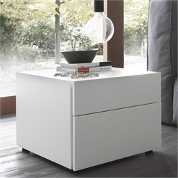 Rossetto Start 2 Drawer Night Stand in White