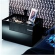 Rossetto Diamond Left Night Stand in Black