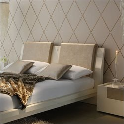Rossetto Diamond Headboard Pillows in Ivory (Set of 2)