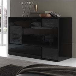 Rossetto Nightfly Dresser in Black