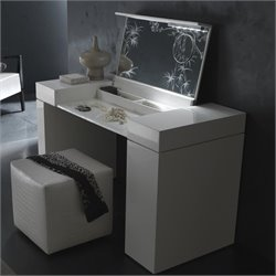 Rossetto Nightfly Dressing Table in Black