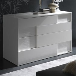 Rossetto Nightfly Dresser in White