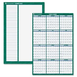 At-A-Glance Yearly Erasable Vertical Wall Planner