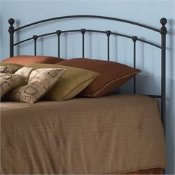 Twin Spindle Headboard in Black