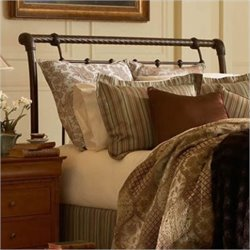 Sleigh Headboard in Gold